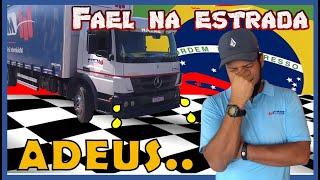 Fael na Estrada, deixando o caminhão em Recife... Foi bom quanto durou...