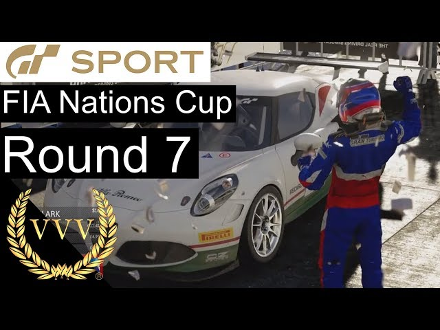 Gran Turismo Sport FIA Nations Cup Round 7 - Controversy and a podium.