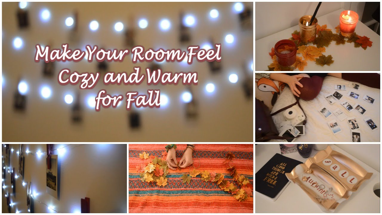 make your room feel cozy and warm for fall 4 simple and fun diy