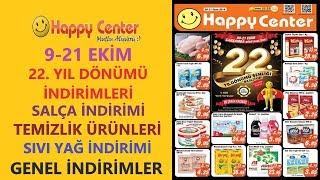 Happy Center 9 - 21 Ekİm 2019 İndİrİmlerİ / Happy Center 22.yil DÖnÜmÜ İndİrİmle
