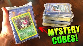 I PULLED TONS OF RARE POKEMON CARDS from MEGA EPIC MYSTERY CUBES on Ebay! (opening)