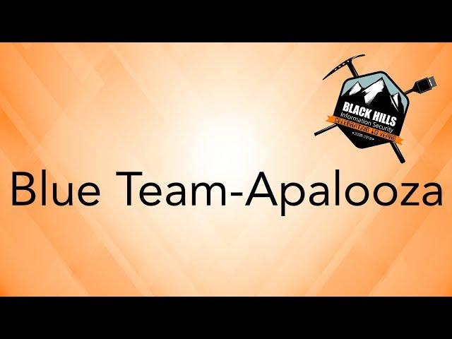 Blue Team-Apalooza