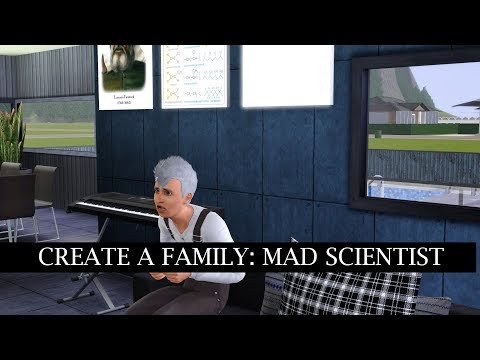 SIMS 3 CREATE A FAMILY // Mad Scientist's Family