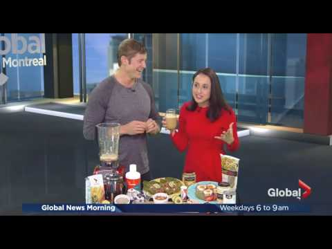 Talking Bacon Diet with Global Morning News Montreal