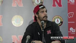 Jordan Westerkamp talks loss to Wisconsin 10/29/16