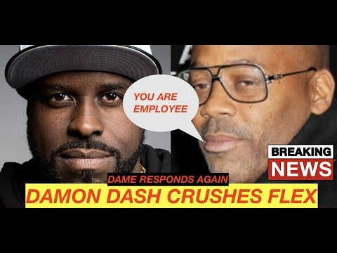BREAKING UPDATE: Dame Dash CRUSHES Funk Flex in New Response 'Go Back to your desk employee in box'