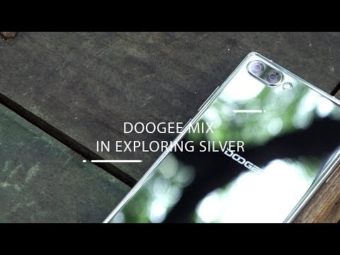DOOGEE MIX in Silver hands-on review!