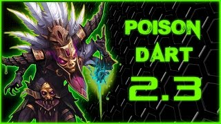 Diablo 3 - Witch Doctor ULTIMATE Poison Dart Build [2.3.0] SEASON 4