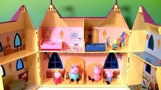 Play Doh Princess Peppa Pig Palace Playhouse Nickelodeon Juguete Palacio De La Princesa Playdough