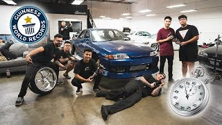 World's FASTEST Coilover Install!