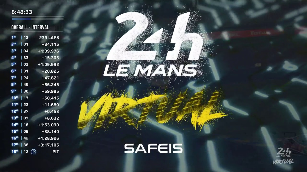 Le Mans 24 Hours Virtual: Replay Hour 16