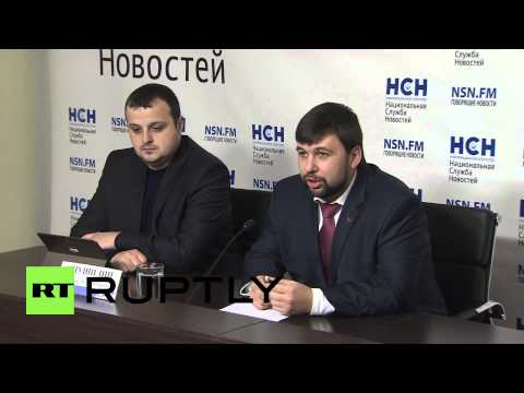 Russia: 'Ukraine doesn't want to build a dialogue' - DNR's Pushilin