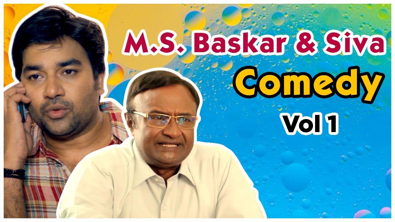 M S  Bhaskar and Siva Comedy Jukebox | Volume 1 | Kadavul Irukaan Kumaru | Sonna Puriyathu