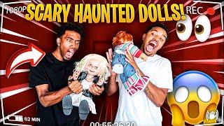 HAUNTED CHUCKY AND TIFFANY DOLL PRANK ON BOYFRIEND!!