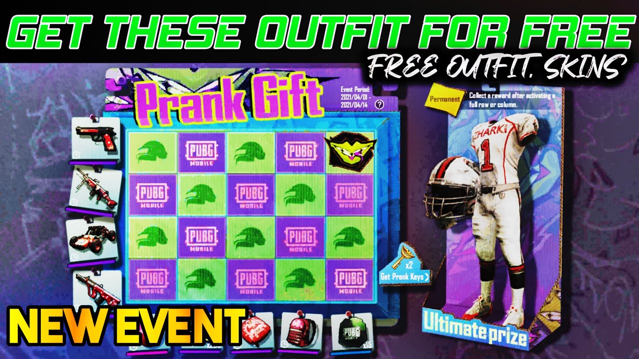 Download GET FREE NEW PERMANENT OUTFITS PUBG NEW EVENT | PRANK GIFT EVENT ( PUBG MOBILE )
