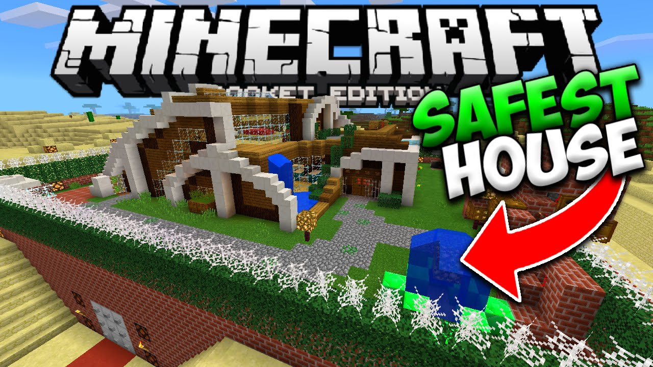 minecraft pe redstone house download