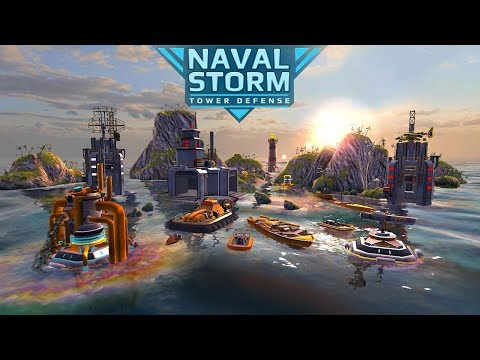 Naval Storm TD iOS/Android Trailer