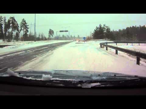 Little Winter Storm In Finland