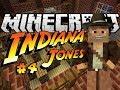 Minecraft: HOLY GRAIL - Indiana Jones & The Herobrine Staff #4 - Custom Map