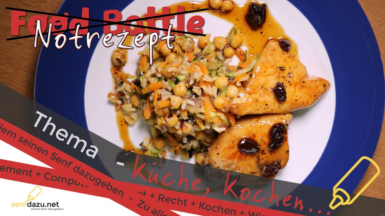 Gemüse-Pilaw mit Rosinen-Honig-Hähnchen - Food Battle - Notrezept ...