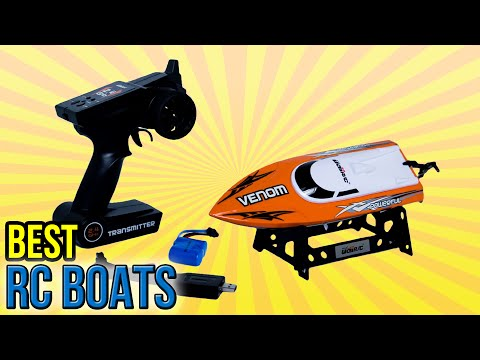 8 Best RC Boats 2016