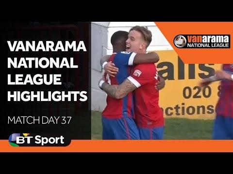Vanarama National League Highlights Show - Matchday 37