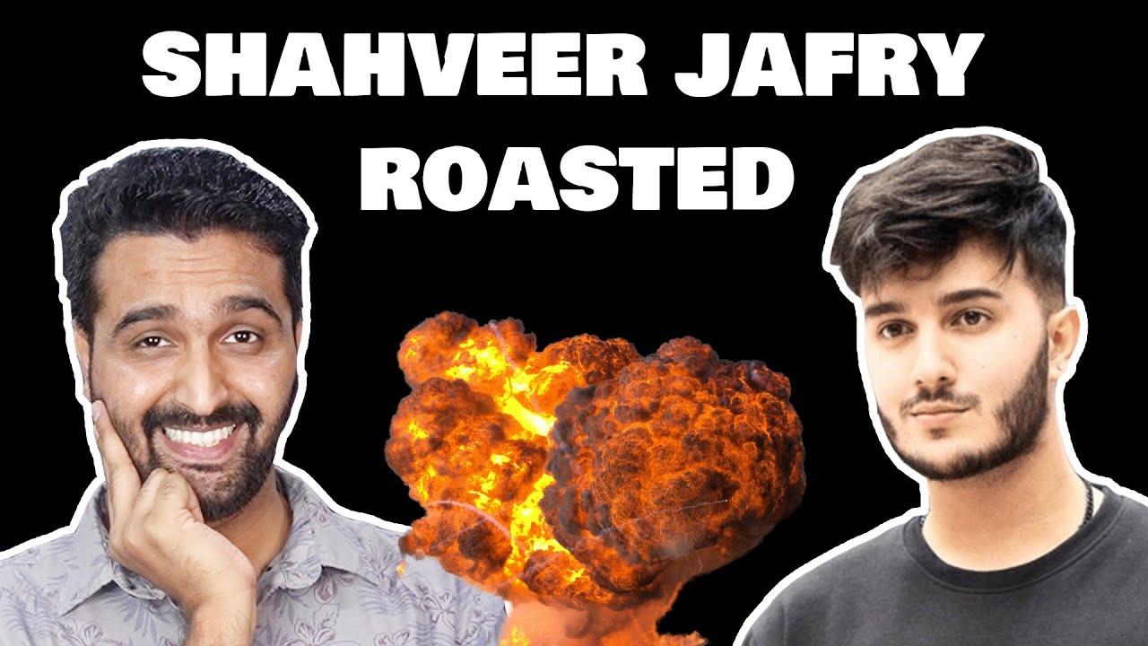 SHAHVEER JAFRY GOT ROASTED | AWESAMO SPEAKS