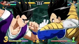DBFZ Friendlies - MasonEliwood (Base Vegeta/Goku Blue/Black) vs. DarZr (Adult Gohan/Cell/Veg SS) #01
