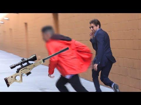 Sniper Prank GONE WRONG!
