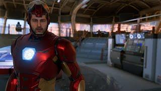 Marvel's Avengers - All Tony Stark Cutscenes