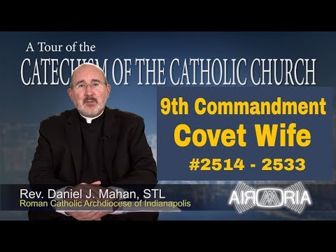 9th Commandment - Coveting Neighbor's Wife - Catechism Tour #94