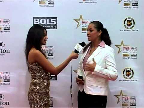 Simran Interview - Audi RITZ Icon Awards 2012