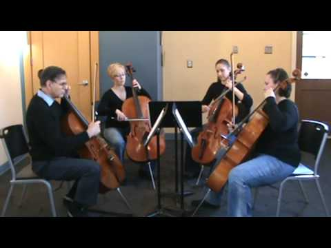 Simple Gifts arranged by E and E Cello Music for Novice Ensemble