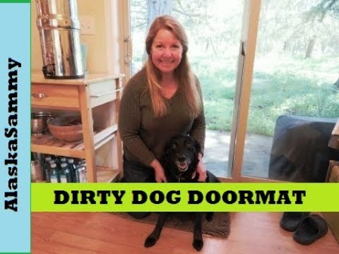 Dirty Dog Doormat  Teach Your Dog To Wipe His Feet