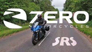 The Future? Zero SRS Electric Battery Powered Sports Tourer Motorcycle Review 2020