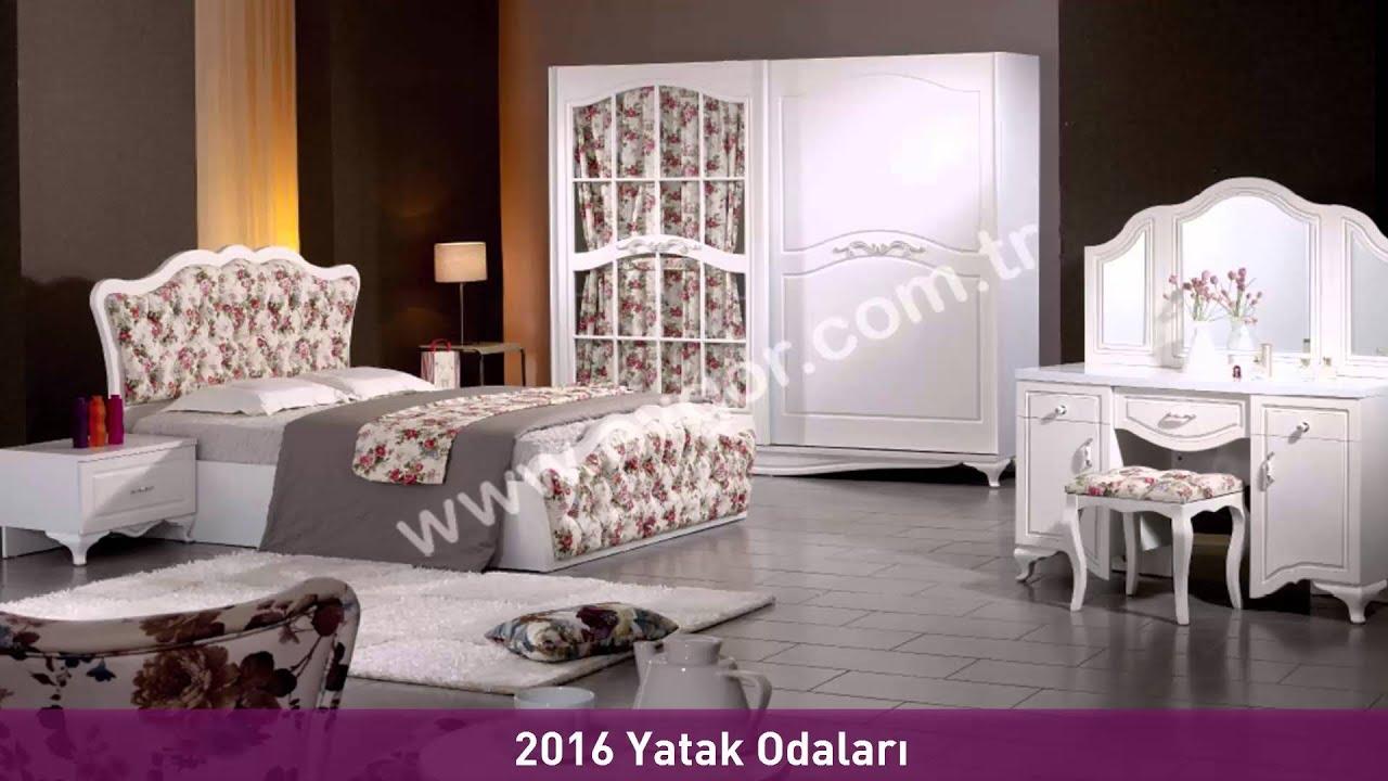 2016 yatak odalar 2016 yatak odas modelleri evg r for Mobilya yatak odasi