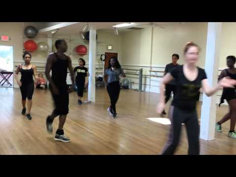 CITY OF NEW ORLEANS THRILLER/JANET JACKSON FLASHMOB NEW ORLEANS BURNITUP REHEARSAL