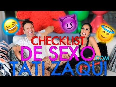 CHECKLIST DE SEXO COM TATI ZAQUI!!! | #MatheusMazzafera thumbnail