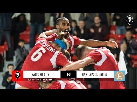 Salford City 3-0 Hartlepool United - National League 25/09/2018
