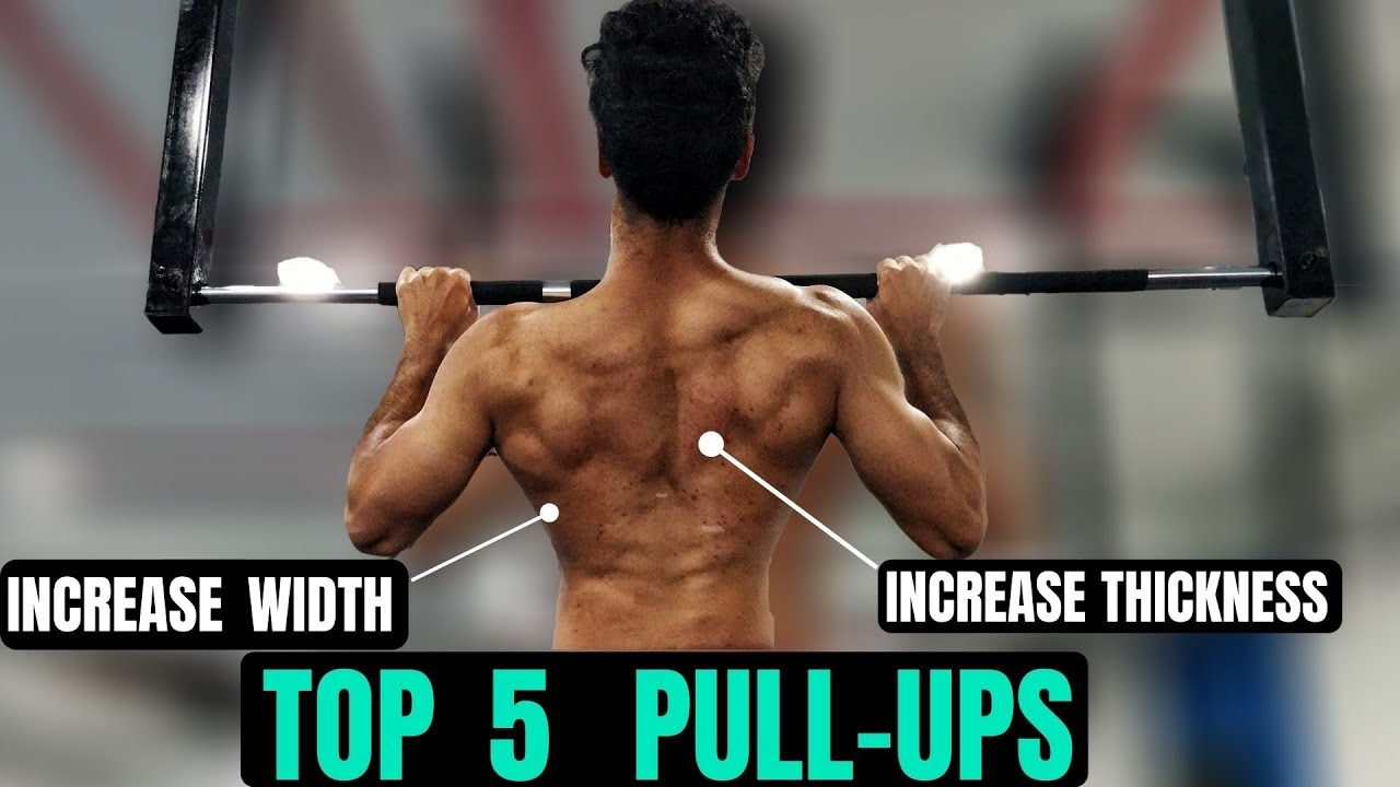 Top 5 Pull-ups everybody should be doing | In Telugu