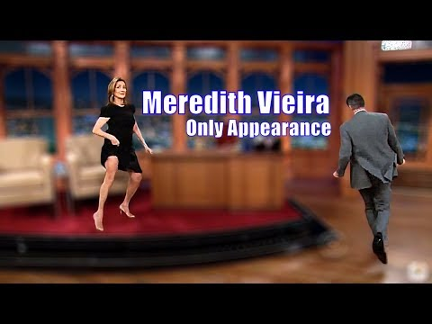 Meredith Vieira - Like Two Kinds In A Social Sandbox - Only Appearance On Craig Ferguson