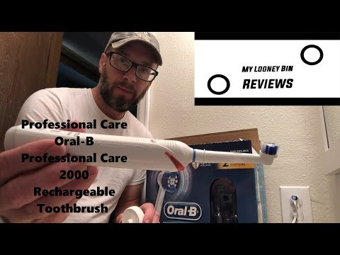 Review:  Professional Care Oral-B Professional Care 2000 Rechargeable Toothbrush