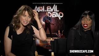 Эш против зловещих мертвецов интервью участников съемки by A.D.