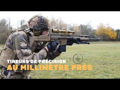 Le nouveau fusil de précision de l'armée de Terre : le SCAR-H PR
