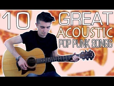 10 Great Acoustic Pop Punk Songs w/ Tabs