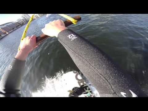 Wakeboarding at Wakedock, Dublin, Ireland