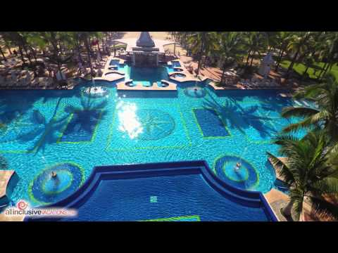 RIU Palace Riviera Maya Aerial 4k by All Inclusive Vacations