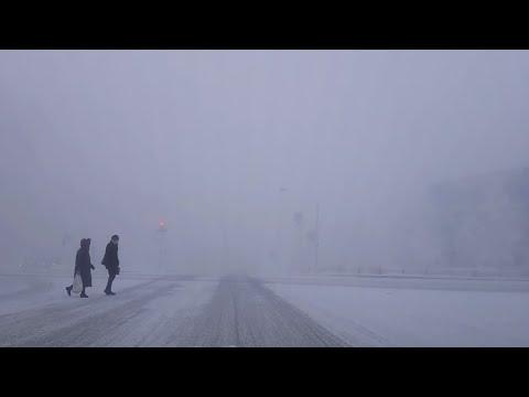 РОССИЯ  ХМАО-ЮГРА СУРГУТ  -44°C  1.02.2019