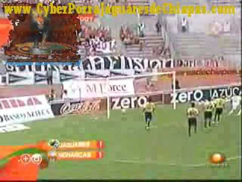 Jaguares de Chiapas 1-1 Morelia a2007-8 Golazo Alejandro Vela