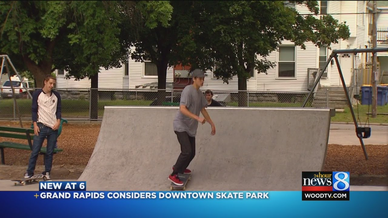 Grand Rapids Considering Skateboard Park Youtube